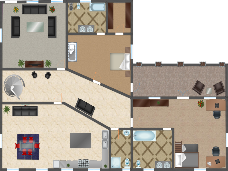 simple planningwiz online d room planner with online office space planner. & Online Office Space Planner. Draw Floor Plans Online Space Designer ...